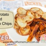 BBQ Potato and Pumpkin Chips | Stay at Home Mum