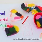 Melted Coloured Crayons | Stay at Home Mum