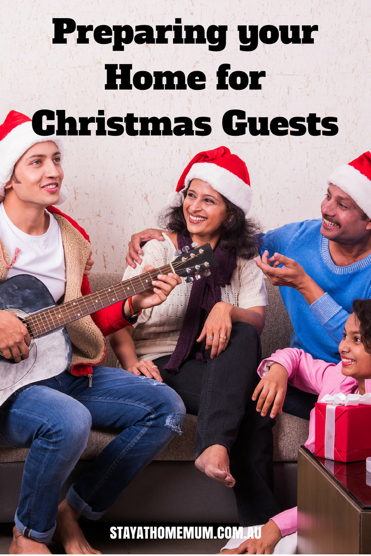 Preparing your Home for Christmas Guests | Stay At Home Mum