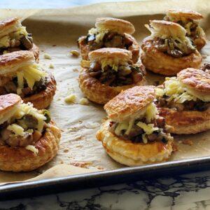 Ham & Mushroom Vol au Vents