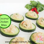 Coconut Chicken Bites | Stay at Home Mum