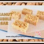 Peanut Bubble Bar   Stay at Home Mum