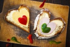 bigstock-Heart-Sandwich-Shape-Wood-Boar-42249283