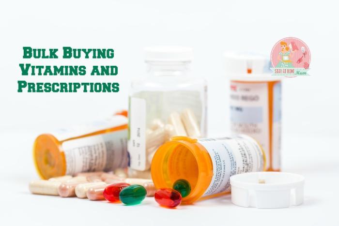 Where to Buy Bulk Vitamins and Prescriptions