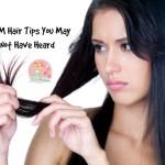 SAHM Hair Tips You May Not Have Heard