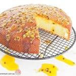 Sour Cream Passion Cake | Stay at Home Mum