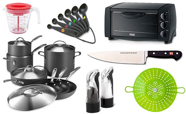 Basic kitchen equipment for beginners stay at home mum - Enseres de cocina ...