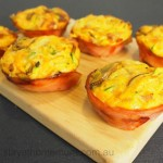 Healthy Ham Veggie Cups   Stay at Home Mum
