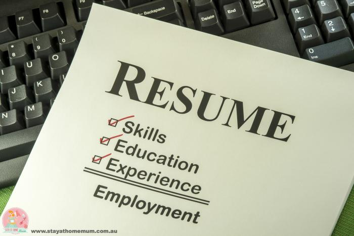 ten things not to put on your resume
