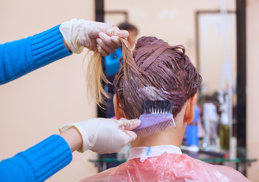 bigstock The Hairdresser Paints The Wom 221598208 | Stay at Home Mum.com.au