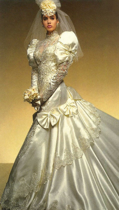 Wedding Dresses Through The Ages Stay At Home Mum