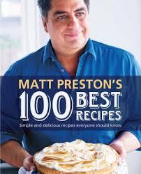 Matt Preston Book