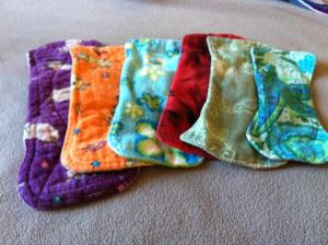 reusable menstrual pad | Stay at Home Mum