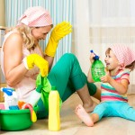 Cleaning with Children | Stay At Home Mum