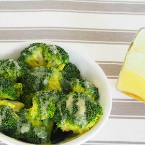 Broccoli and Lemon Butter Sauce