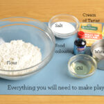 play dough recipe ingredients | Stay at Home Mum.com.au