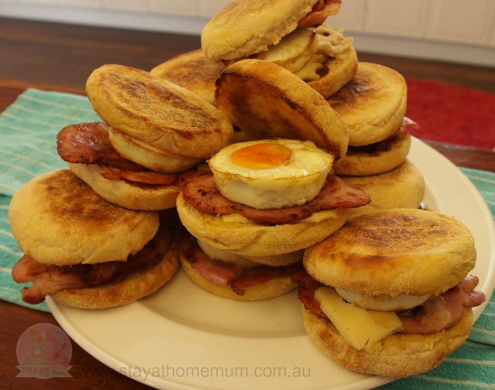 Bulk Bacon and Egg Muffins | Stay at Home Mum