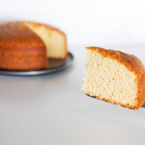 Gluten Free White Chocolate Cake