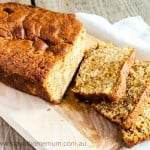 Caramel and Pear Bread1   Stay at Home Mum.com.au