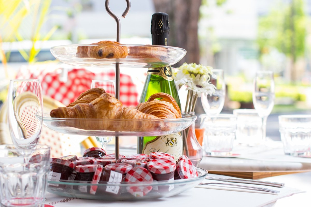 Champagne Breakfast Stay At Home Mum