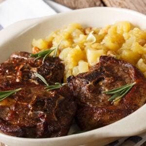 Slow Cooker Chutney Lamb Chops