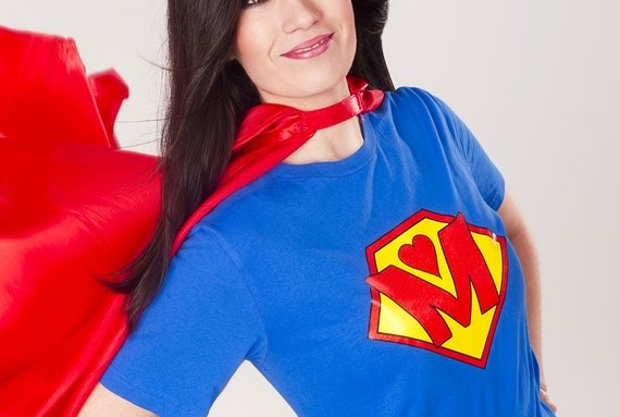 bigstock Proud Mom As Super Hero Mother 39255145 | Stay at Home Mum.com.au