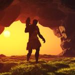 bigstock Silhouette of prehistoric man 59695598 | Stay at Home Mum.com.au