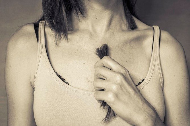 Dear Valentine, take another little piece of my heart, or hair