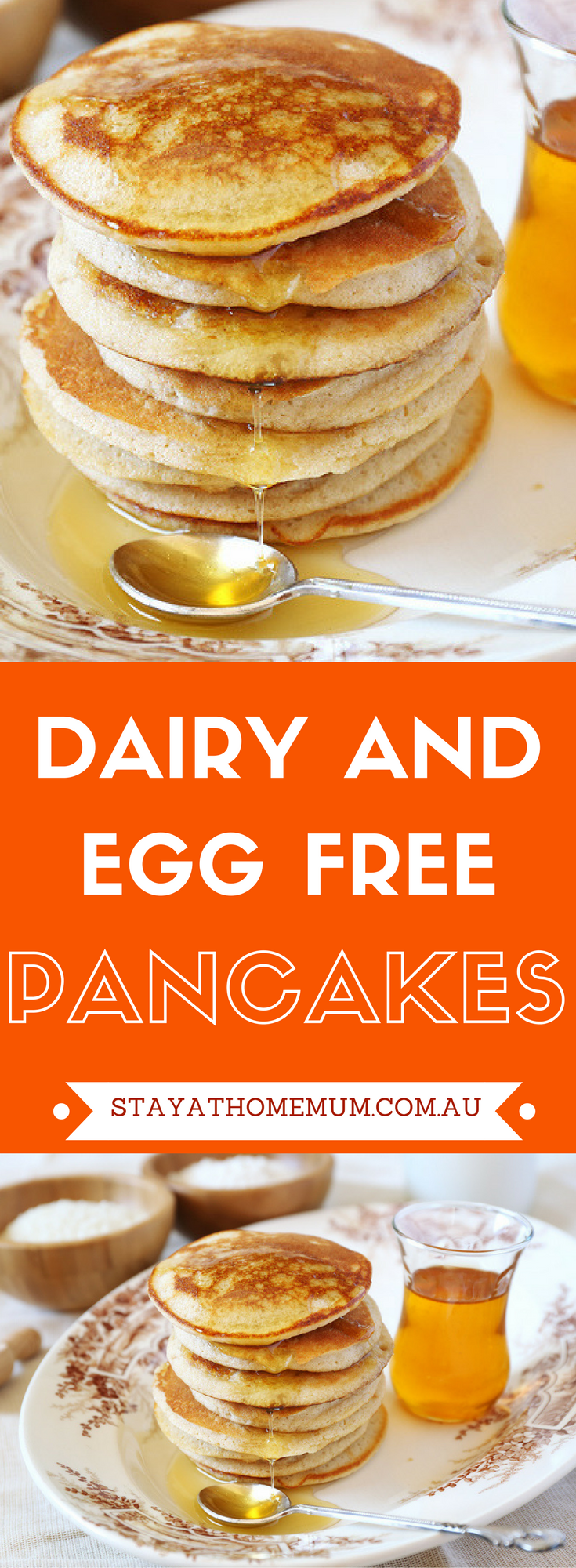 Dairy and Egg Free Pancakes