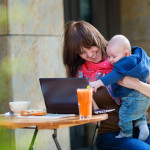 bigstock Young Working Mother With Litt 66646477 | Stay at Home Mum.com.au