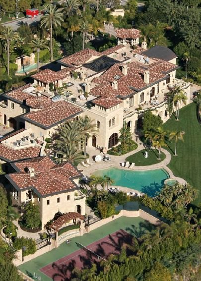 30 Mansions of the Rich and Famous | Stay at Home Mum