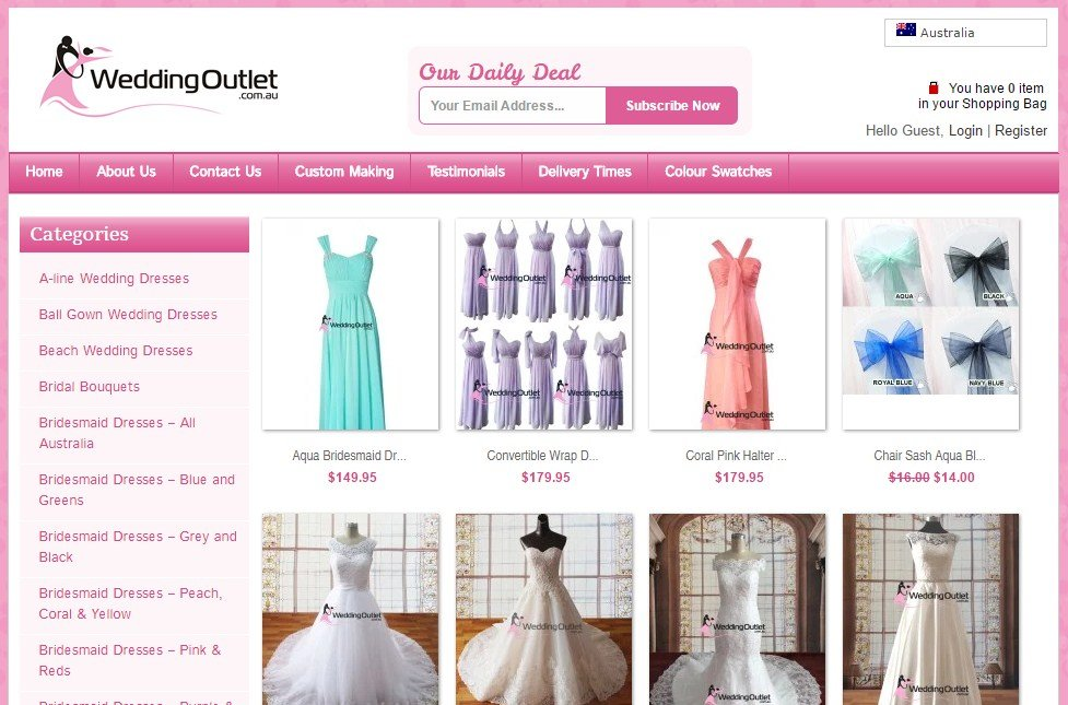 30 Best Online Stores for Wedding Dresses - Stay at Home Mum