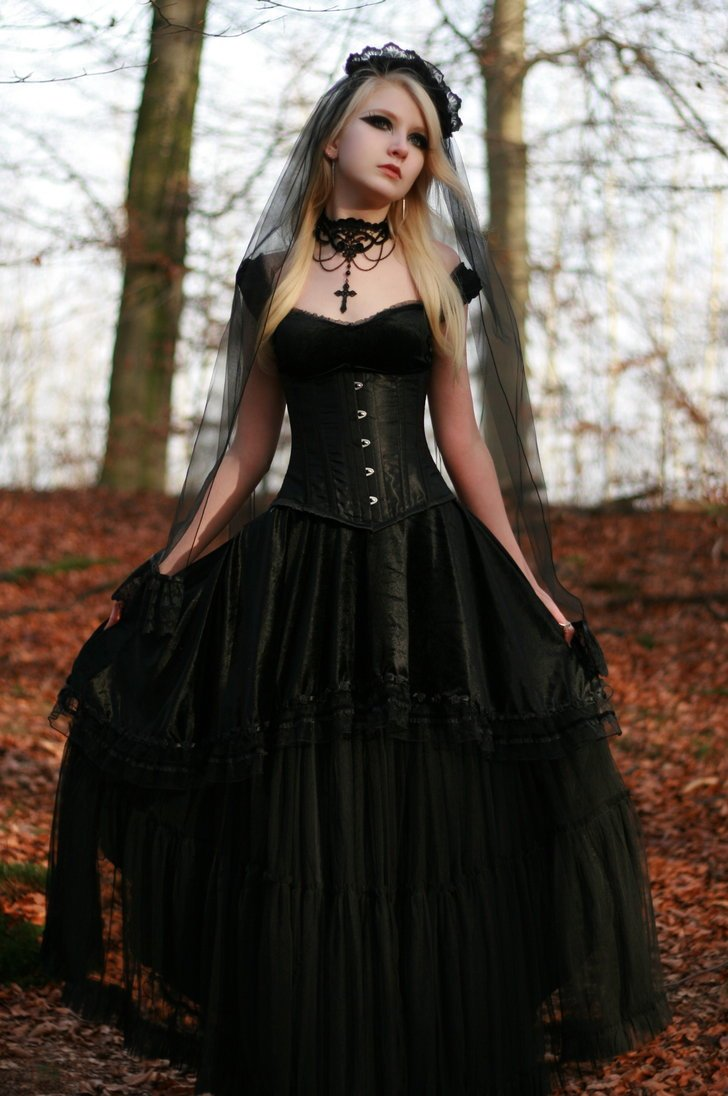 Gothic wedding shop - Black Wedding Dresses Stay At Home Mum