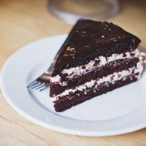 Dairy-Free Chocolate Coconut Mud Cake