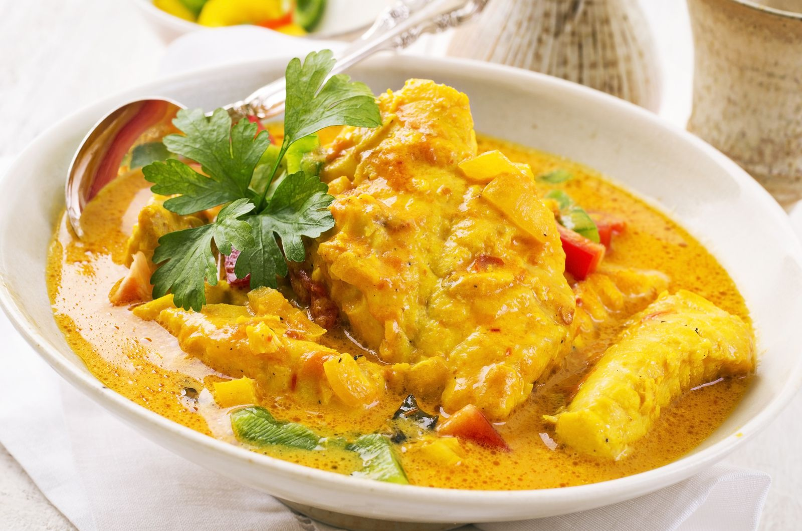 quick fish coconut curry stay at home mum