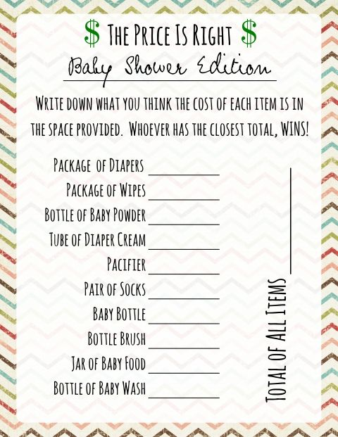 13 Hilarious Baby Shower Games