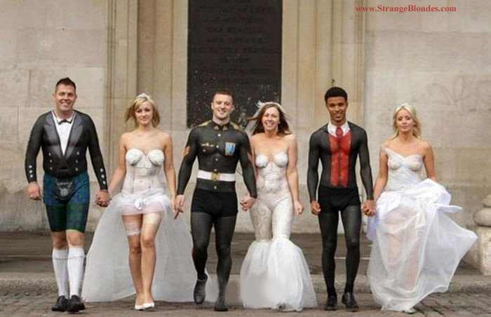 16 of the Bizarre Wedding Dresses Ever Worn | Stay At Home Mum