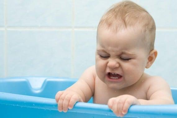 Baby Afraid Of The Bath?