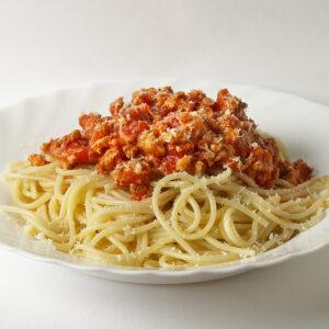 Can of Tomato Soup Spaghetti Bolognaise
