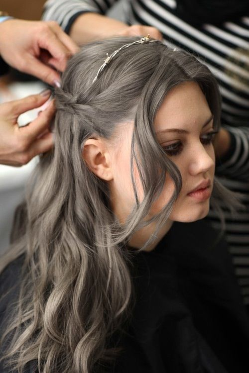 50 Ultra Chic Shades of Grey Hair