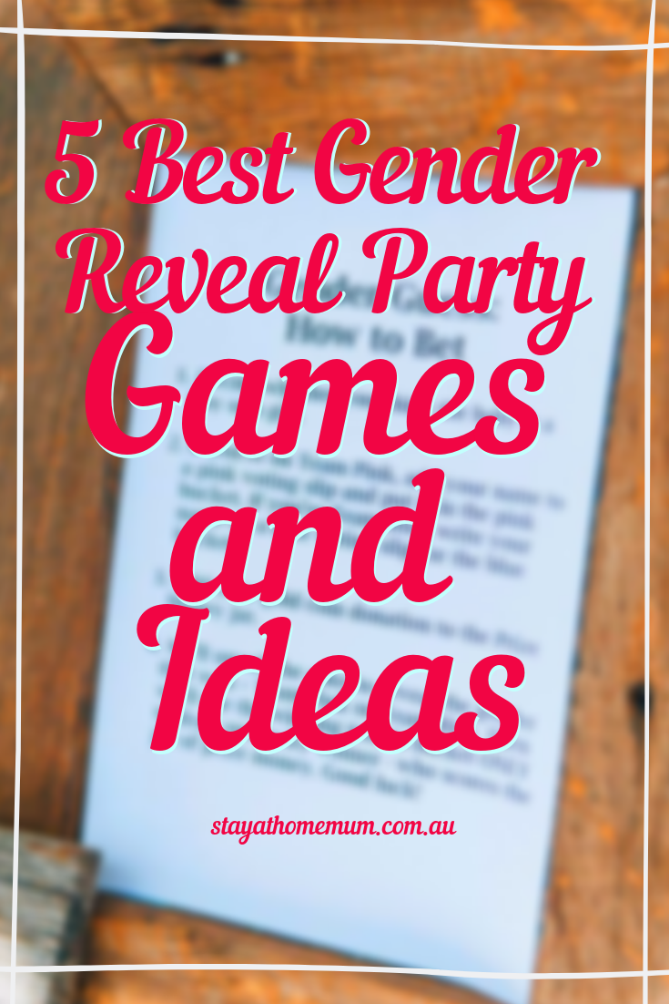 5 Best Gender Reveal Party Games and Ideas