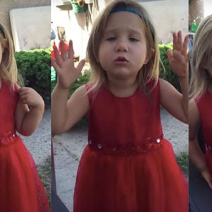 Flower Girl Briefs Her Dad on How to Act During a Wedding