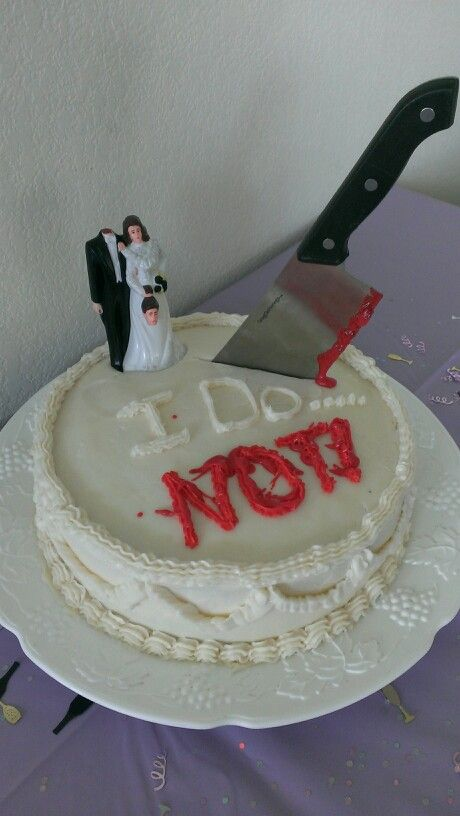 I NOW DO NOT - 25 Hilarious Divorce Cakes for the Happy ...