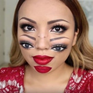 This Double Vision Makeup Look is Perfect for Halloween!