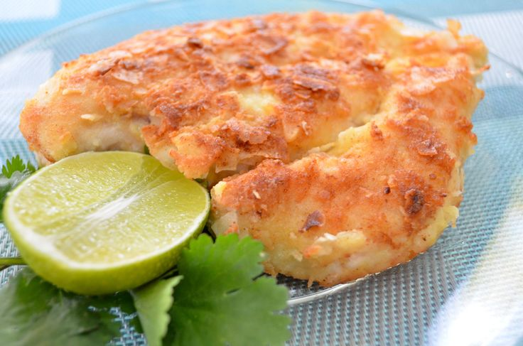 Crunchy Coconut-Coated Chicken Breasts