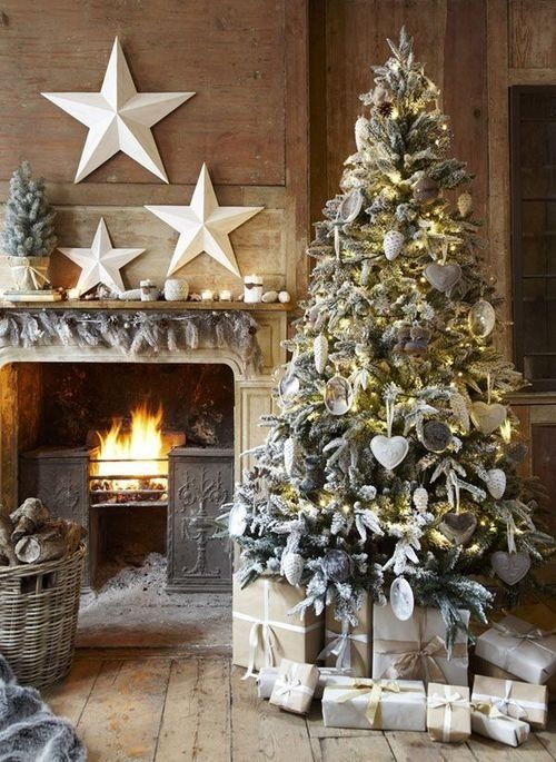 White and Silver Christmas Trees | Stay At Home Mum