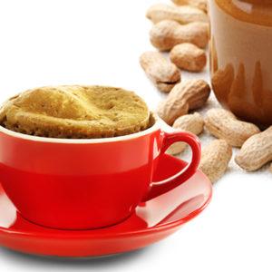 3-Ingredient Flourless Peanut Butter Mug Cake