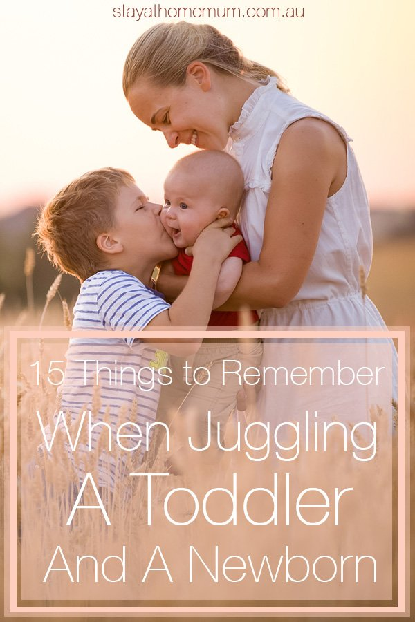 juggling a toddler and a newborn | Stay at Home Mum