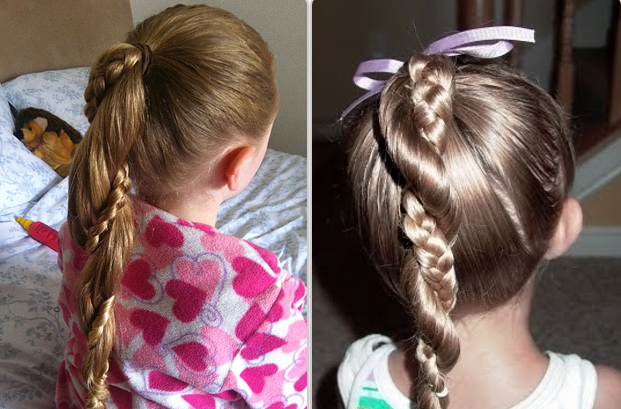 20 Gorgeous Hairstyles for Little Girls - Stay at Home Mum