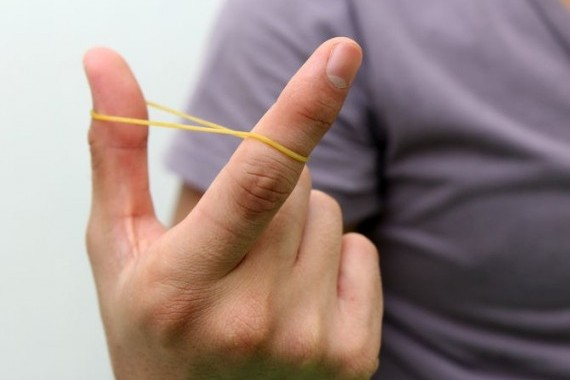 Ten Uses For Rubber Bands